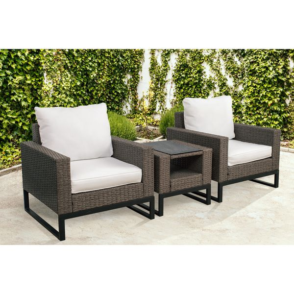 Patio Furniture Rattan Conversation Set for Sale in ...