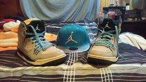 Jordan SC-1 men's size 10.5 with new Jordan hat for Sale in Murfreesboro, TN