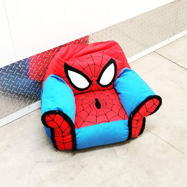 Miraculous Spiderman Bean Bag Chair 20 Obo Great Condition For Small Beatyapartments Chair Design Images Beatyapartmentscom