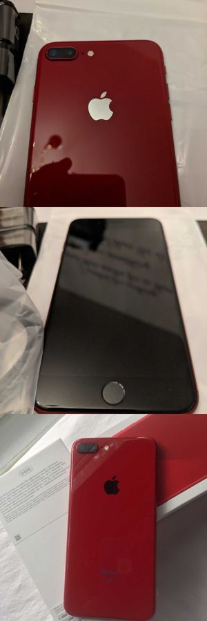 Neverlocked iPhone 8 Plus (Product) Red, 256GB for Sale in Lewis Center, OH