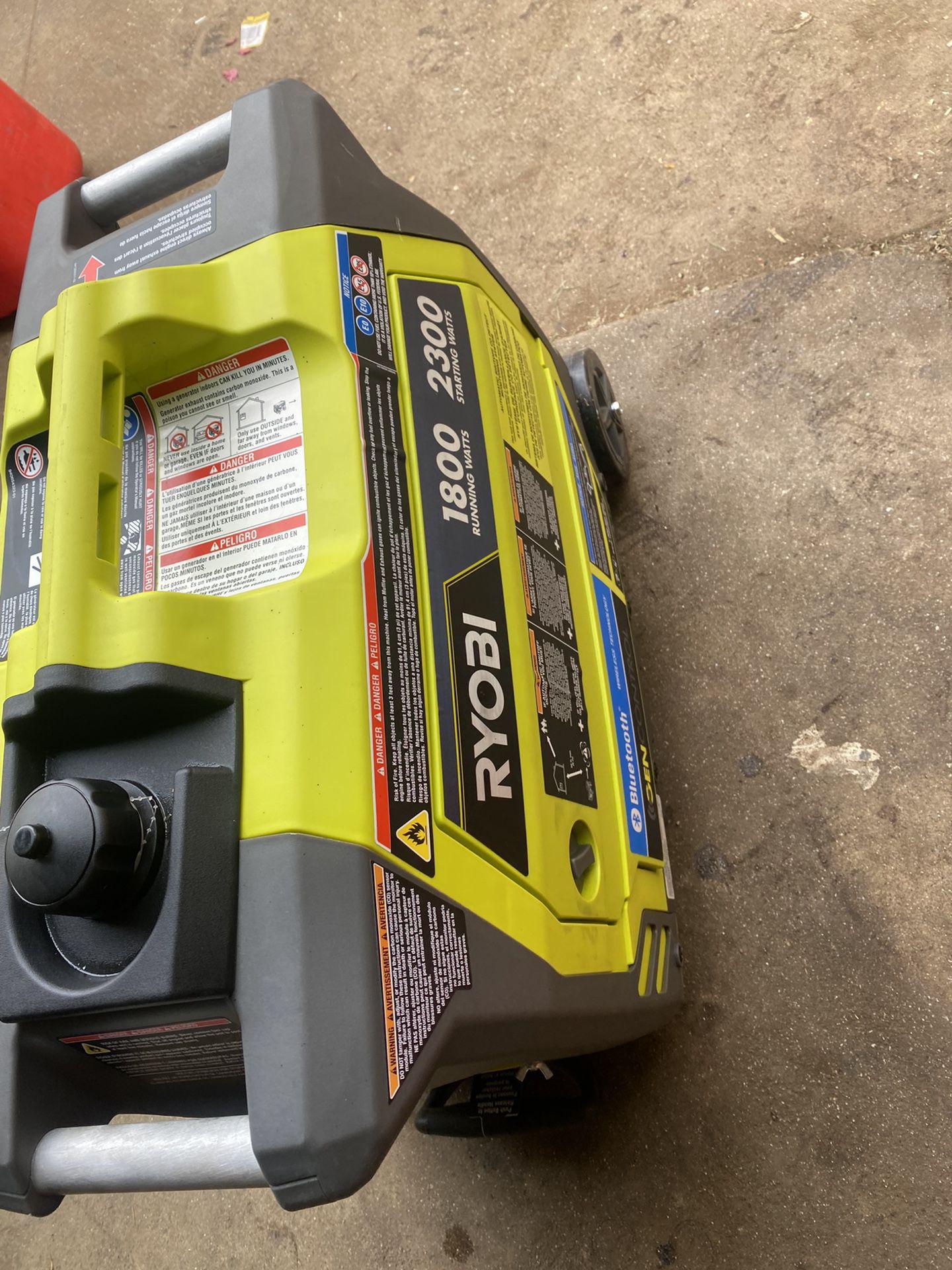 Ryobi 1800 Running Watts 2300 Starting Watts