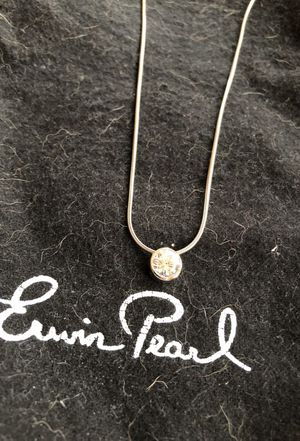Erwin Pear CZ necklace for Sale in Cleveland, OH