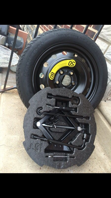 Hyundai Veloster Tires >> Hyundai Veloster Turbo Spare Tire Kit For Sale In Philadelphia Pa Offerup