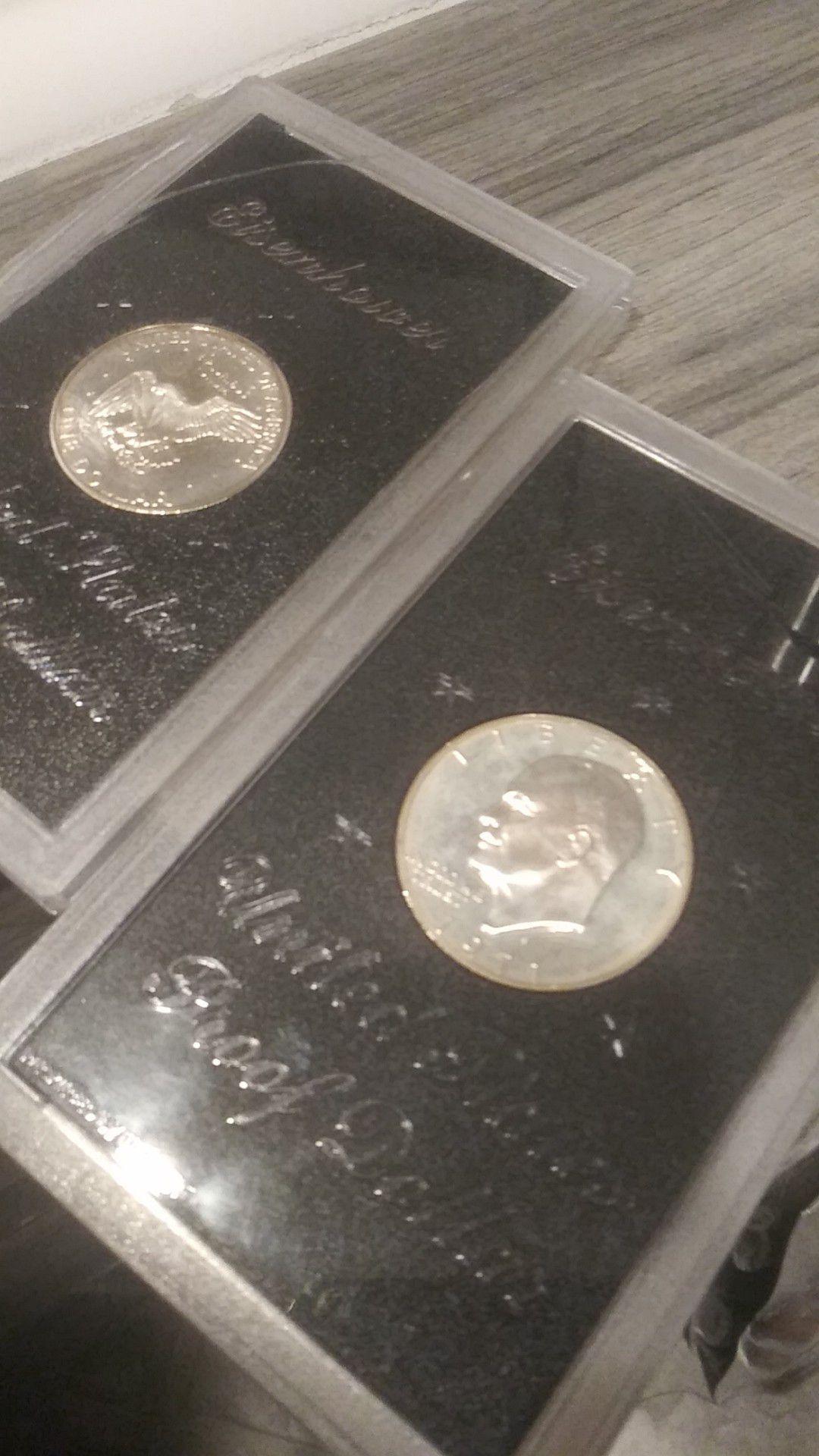 1971 Eisenhower United States proof dollar