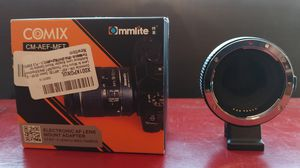 Commlite CM-AEF-MFT EF/EF-S to M4/3 for Sale in Washington, DC