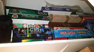 Board games and puzzles lot for Sale in San Tan Valley, AZ