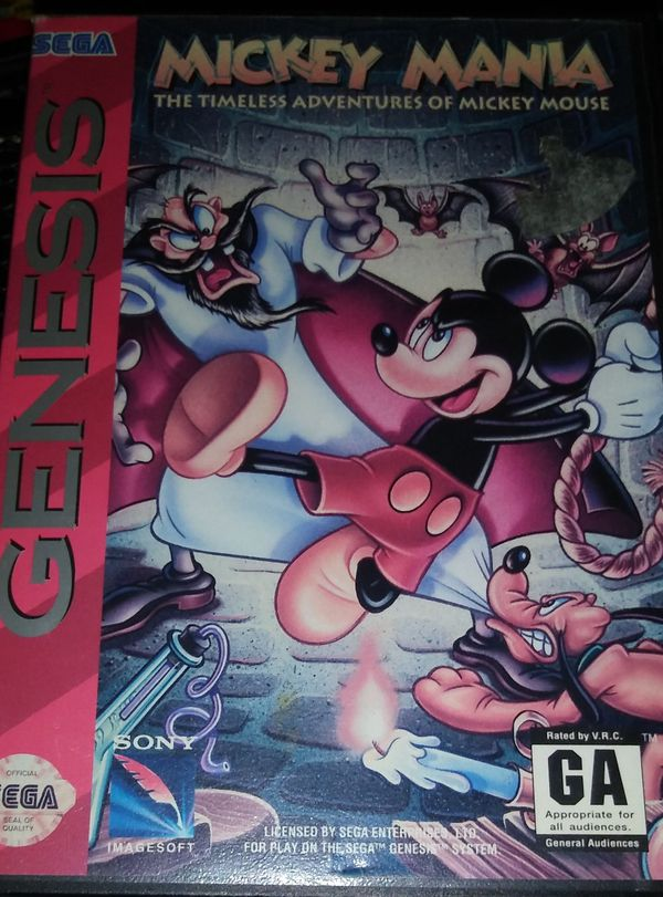 Sega Genesis game Mickey Mania for Sale in Hollister, CA - OfferUp