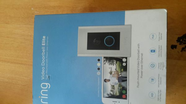 Ring Video Doorbell Elite Brand New Never Used For Sale In Los