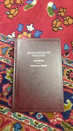 Massachusetts practice - civil practice for Sale in Boston, MA