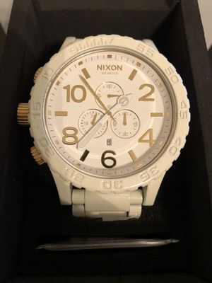 Nixon 51-30 White/Gold A083-1035 Watch for Sale in Ashburn, VA