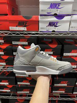 Jordan 3 Cool Grey Size 10.5 Thumbnail