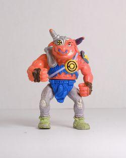 Vintage 90's Teenage Mutant Ninja Turtles TMNT figure    GROUNDCHUCK Thumbnail
