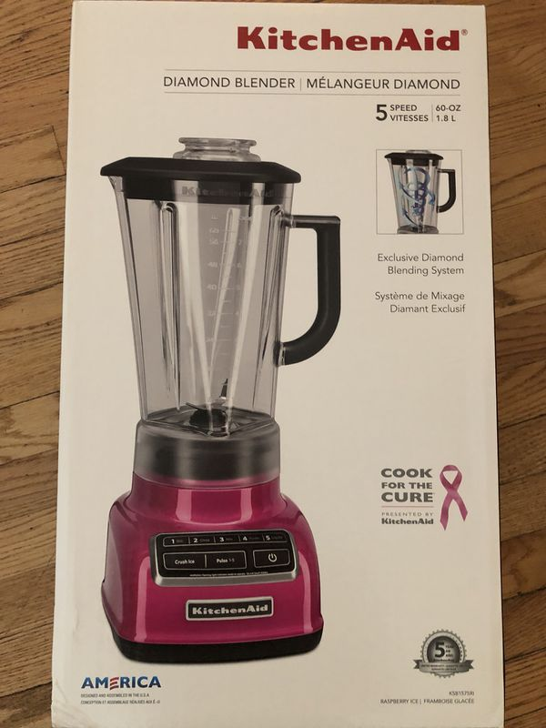 KitchenAid Diamond Blender for Sale in Bloomingdale, IL - OfferUp on vortex blender, breville bbl605xl hemisphere control blender, margaritaville blender, 25 diamond blender, nutribullet ninja blender, best smoothie blender, black diamond blender, vitamix 5200 blender, orange juice blender, cuisinart diamond blender, red blender, blendtec blender, kitchen blender, cuisinart hand blender, cobalt blue vitamix blender, color blender, oster blender, kenwood kmix hand blender,