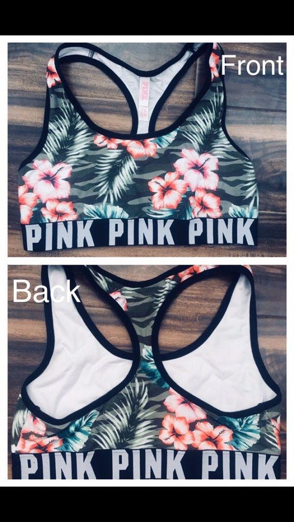 9ff1091ce2 Victoria s Secret floral sports bra for Sale in Charlotte