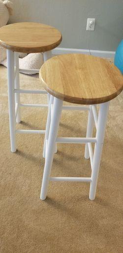Wooden bar stools Thumbnail