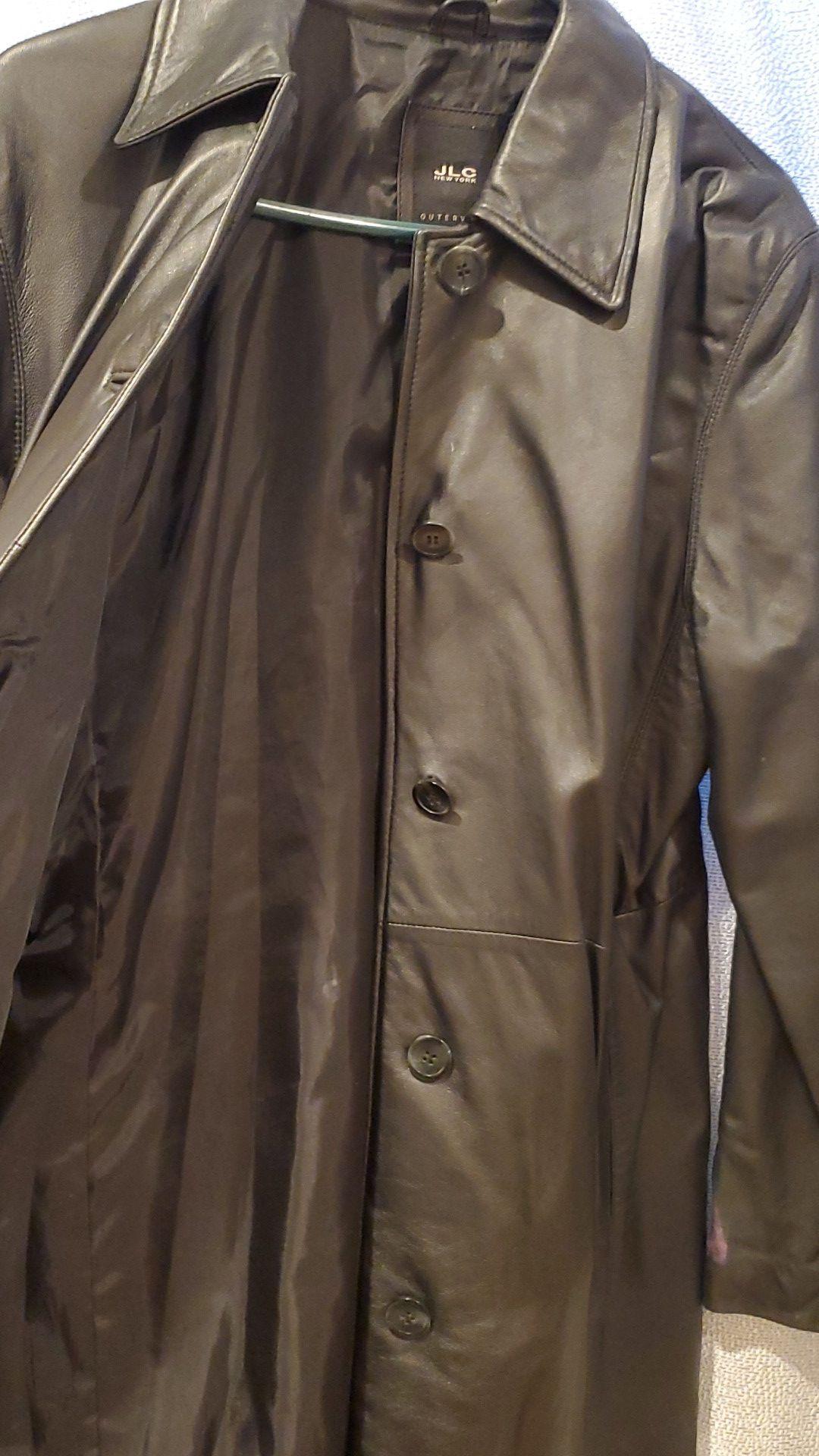 Lether coat