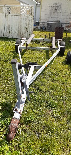 Photo Have a a16 to 18 foot Boat Trailer