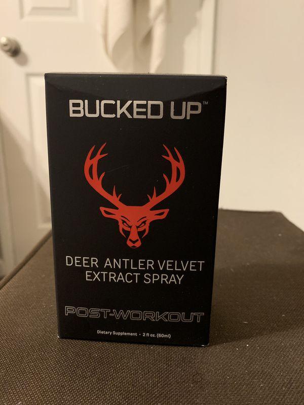 bucked up deer antler spray