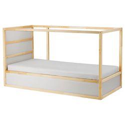 Twin Bed Reversible White/Pine Thumbnail