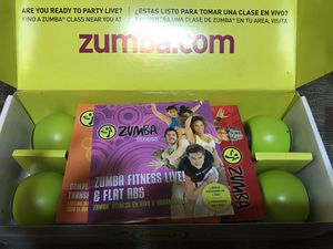 Zumba Fitness Exhilarate Body Shaping System DVD for Sale in Dumfries, VA