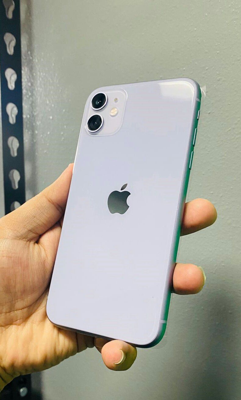 iPhone 11 Purple Tmobile and Metro - Take it home today (finance for $50 down, no credit needed) $650