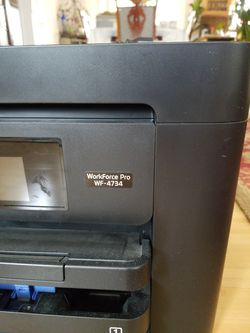 Slightly Used EPSON WF-4734 No Longer Needed. Bought For $249 Selling Only For $95 Fixed. Thumbnail