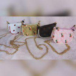 Cute babygirl fashion shoulder bag💜 Thumbnail