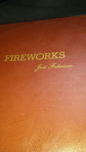 Fireworks Jose Feliciano Vintage Record for Sale in Fairfax, VA