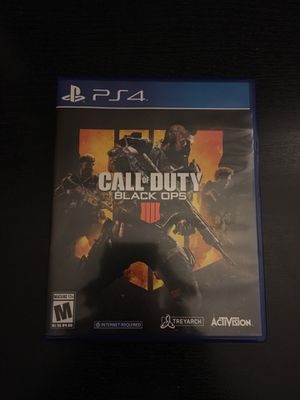 Call Of Duty: Black Ops 4 (PS4) for Sale in Gaithersburg, MD