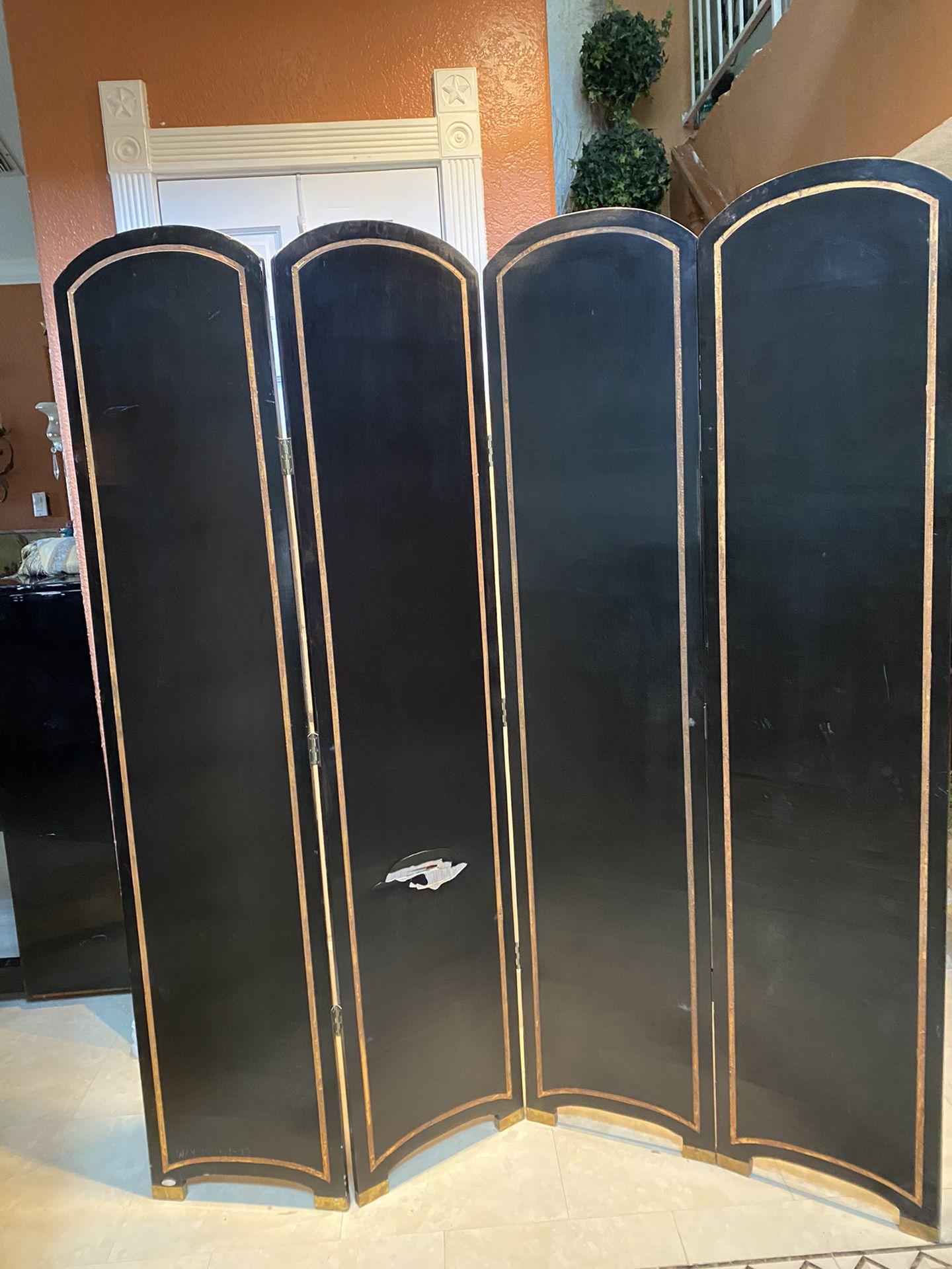 Room Divider Four Panels