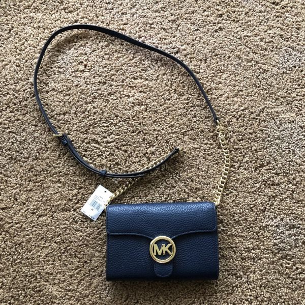 Michael Kors Vanna Pebble Leather Cross Body Bag for Sale in San ... 4dc28312d84bb