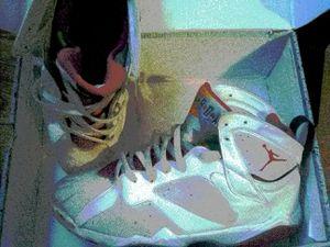 """Air Jordan 7's """"Hare"""" for Sale in Tampa, FL"""