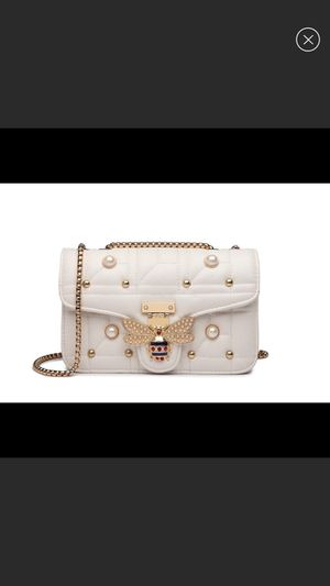 Photo New Women white bee shoulder bag crossbody
