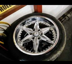Photo CHEVY TIRES & RIMS (6 LUG)