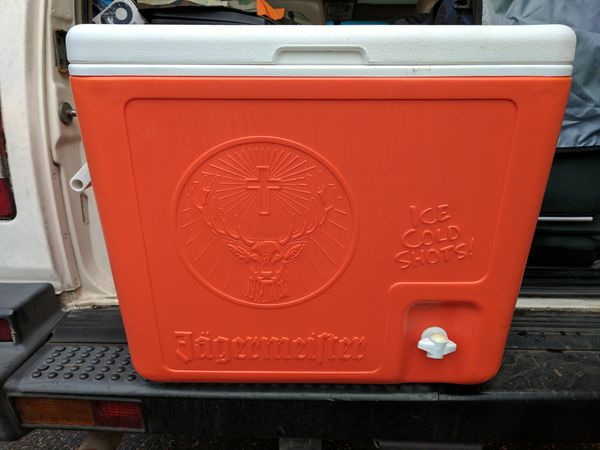 Jagermeister Cooler Perfect For Tailgate Shenanigans For Sale In