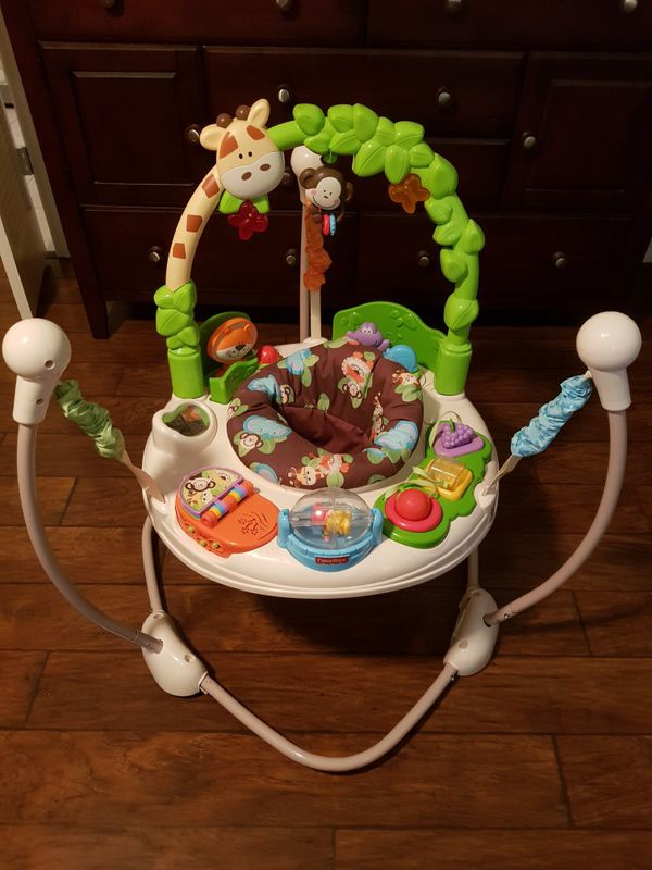 9b87478530b Fisher Price Go Wild Jumperoo for Sale in Cypress, TX - OfferUp