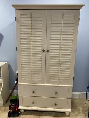 Photo Baby armoire, dresser and book shelf