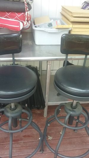 Two adjustable stools for Sale in Germantown, MD