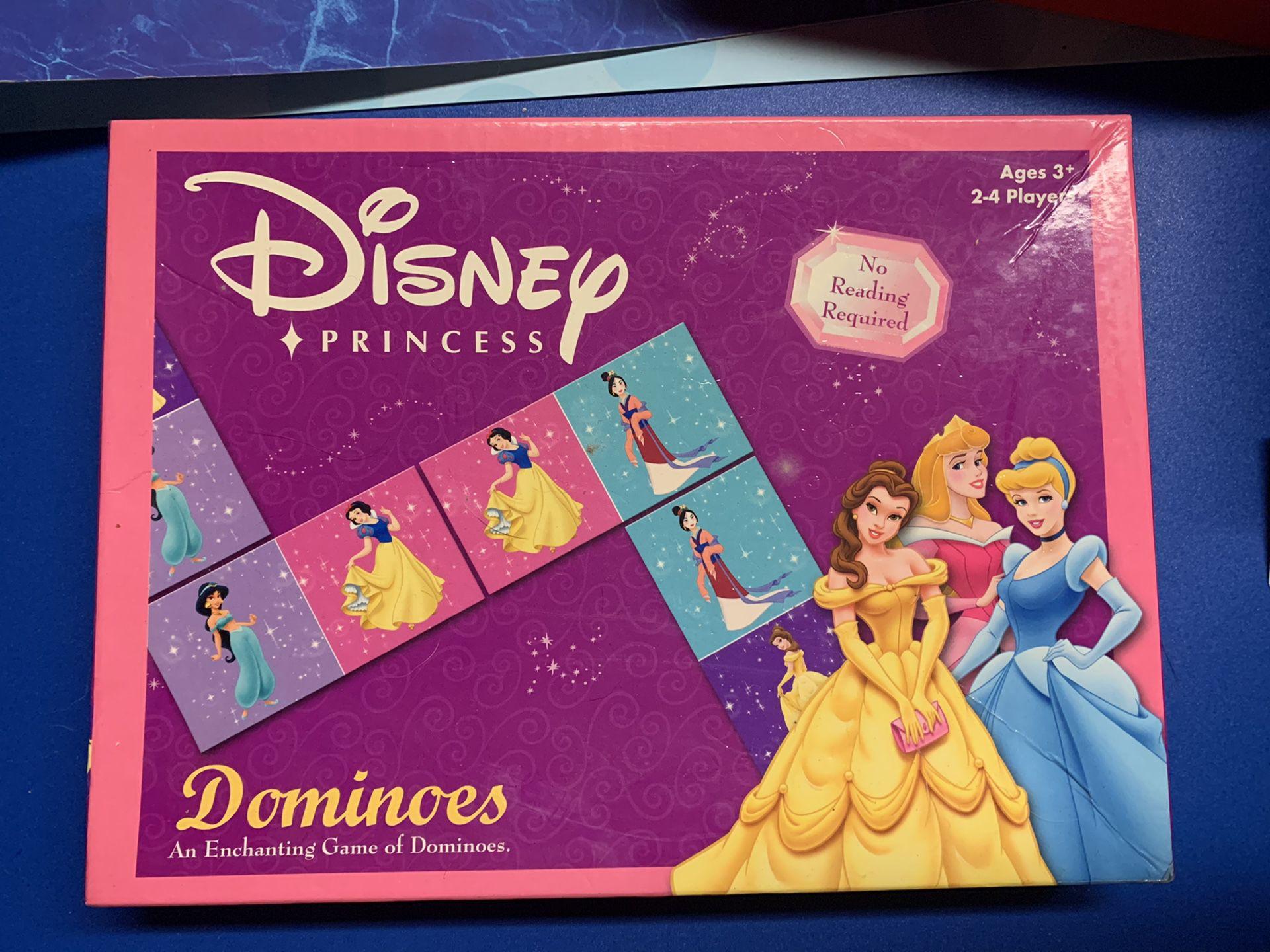 Disney princess dominos board game