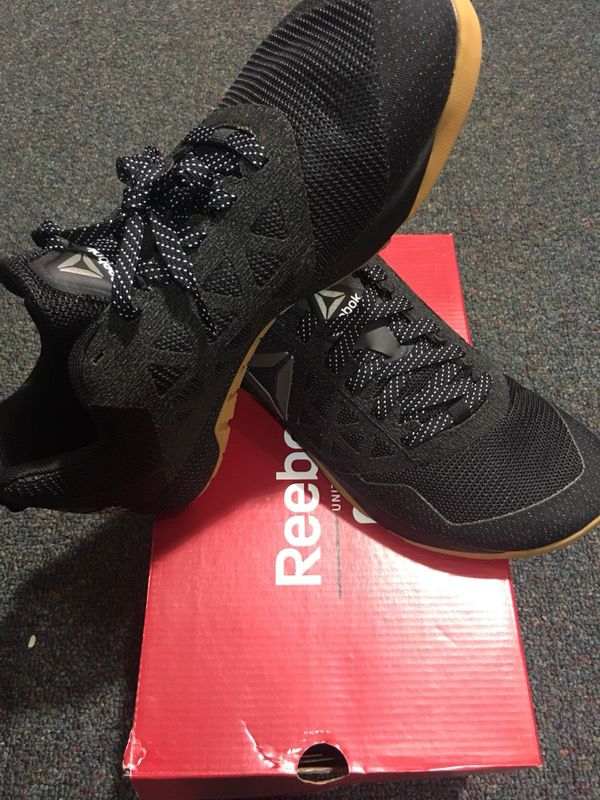 Reebok CrossFit Nano 6.0 CVRT BLACK GUM WHITE BS5107 Men Sizes  8.5 9.5 10.5 11 11.5 12 12.5 13 13.5 b5923c60d
