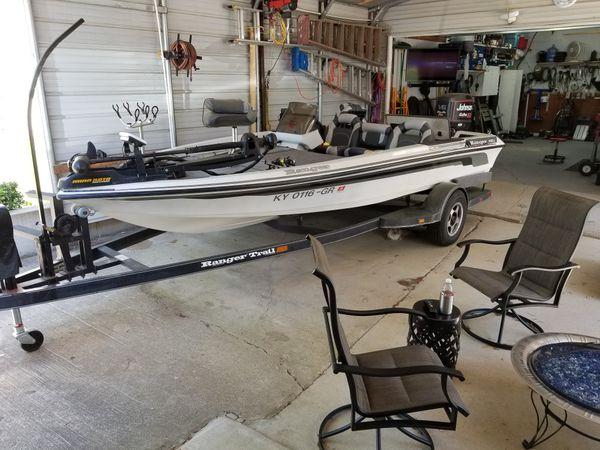 Ranger 481V 150 Johnson fastStrike for Sale in Gilbertsville, KY - OfferUp