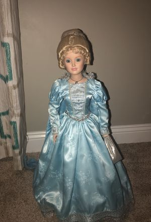 Cinderella Collectible Porcelain Doll for Sale in Coral Springs, FL