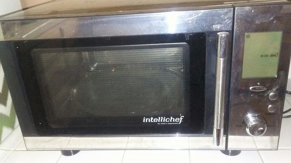 Intellichef Microwave And Conventional Oven By