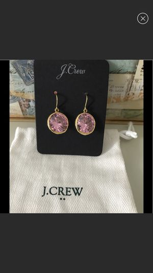 J. Crew Earrings. Brand new. Color: soft blossom for Sale in Miami Beach, FL