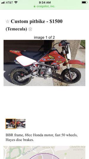 Honda pit bike for Sale in Temecula, CA - OfferUp