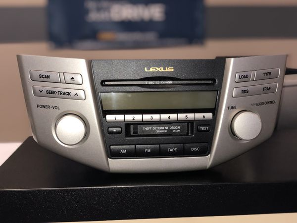 lexus rx330 radio not working