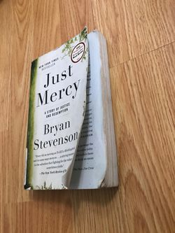Just Mercy book by Bryan Stevenson Thumbnail