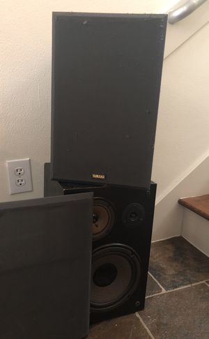 Two Yamaha speakers for Sale in Houston, TX