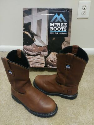 8.5W Steel Toe Boots for Sale in Silver Spring, MD