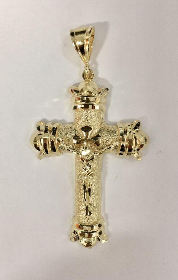 Silver gold plated jesus cross crucifix pendant for sale in honolulu silver gold plated jesus cross crucifix pendant for sale in honolulu hi offerup aloadofball Choice Image